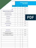 Listado Maestro Documentos SG - SST ENG