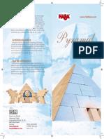 000481 HABA Pyramid Block Set Instructions