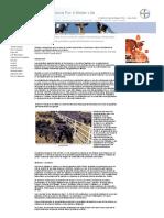 Estudio Comparativo de La Acción de Cuatro Ivermectinas Comerciales Sobre La Incidencia de Parásitos Gastrointestinales en Bovinos.