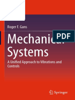 Mechanical Systems (Vibration and Control) - Roger F Gans