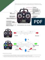 Manual Dron 2.44ghz