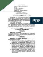 Ley 27783 Ley de Bases de La Descentralizacion
