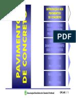 Pavimentos rigidos - CPC-M1 ABCP