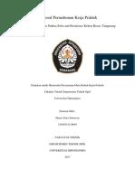 Proposal Permohonan Kerja Praktek Padina Soho and Residence