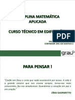 Matematica Aplicada - Aula 04