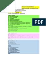 Programa Arq 1-2