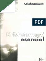 Krishnamurti Esencial - Jiddu Krishnamurti.pdf