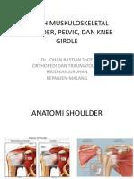 Kuliah Muskuloskeletal 2015 Dr JOHAN