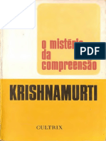 O mistério da compreensão - Jiddu Krishnamurti.pdf