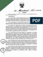 Resolución Ministerial sanciona a Guillermo Molinari actual viceministro de Gestión Pedagógica