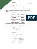 Beta-ketathiolase Deficiency Disorder Summary