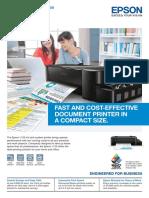Epson InkTankSystemPrinter L120(NoAddress)