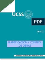 Clase 06 Planificación y Control de Obras