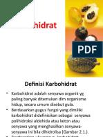 Bab II. Karbohidrat