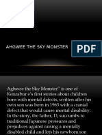 Ahgwee the Sky Monster