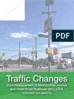 Traffic Changes Update of TEAs Sept 2017