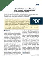 371 Alginate Silica Microspheres