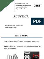 EECAsegurança - Acústica