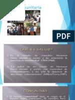Salud Comunitaria CLASE