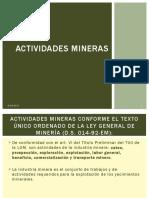 DESARROLLO MINERO - ACTIVIDADES MINERAS.pptx