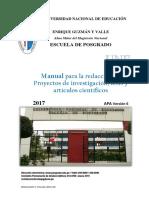 Manual de Apa Concluido - Universidad Nacional de Educación - La Cantuta