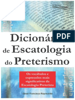 Dicionário de Escatologia Do Preterismo