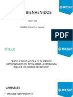 Bienvenidos Proyecto Final Diapo