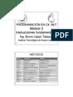 3.- Programacion en C_Sharp Por BLT (Instrucciones Fundamentales)
