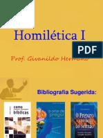 Homilética I