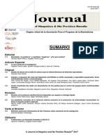 Journal of negative & no positive results vol 2,  num 06, 2017