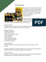 Características y Aportes de La Cultura Olmeca