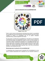 Metodologia para la evaluacion de la accesibilidad web Unidad 4.pdf