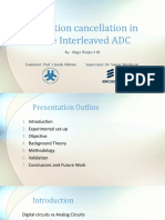 Distortion Cancellation in Time Interleaved ADC