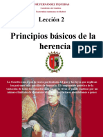 02.- Patrones de Herencia Mendeliana