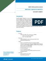 Atmel 42181 SAM D21 Datasheet Summary