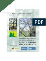 Instrumentos para a Promoção do Investimento Privado na Indústria Florestal Moçambicana