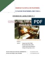 CIRCUITOS TRIFÁSICOS BALANCEADOS