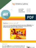 Rebranding Antena Latina