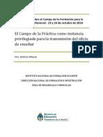 ElCampoDeLaPractica-Alliaud