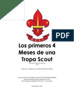 Los Primeros Cuatro Meses de Un Tropa Scout Acolsi