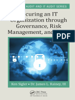 Securing an IT Organization Through Governance, RiskManagement, And AuditKen