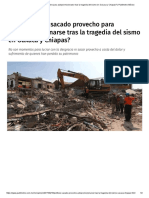 19-09-17 ¿Políticos Han Sacado Provecho Para Autopromocionarse Tras La Tragedia Del Sismo en Oaxaca y Chiapas_ _ Publimetro México