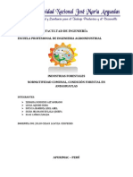 Normativa Comunal Condición Forestal en Andahuaylas