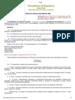 11 - D2596 Aprova o Regulamento de Segurança Do Tráfego Aquaviário Em Águas Sob Jurisdição Nacional (RLESTA)