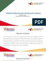 Presentación de Santiago Cueto - Políticas internacionales de educación inclusiva.