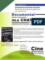 Cine @JDC Película Isla Chatarra