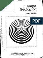 LIVRO Tempo Geológico