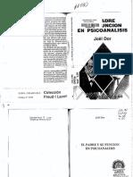Dor, J. el padre y su función en psicoanálisis REditum