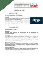 Decreto de La Ley 10.917 - Bomberos Voluntarios Argentina
