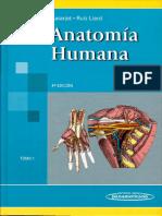Anatomia Humana La Tarjet. 4ta Edicion